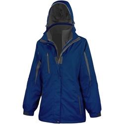 Abbigliamento Donna giacca a vento Result R400F Blu navy / Nero
