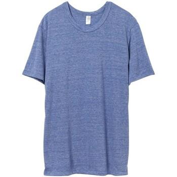 Abbigliamento Uomo T-shirt maniche corte Alternative Apparel AT001 Azzurro Eco