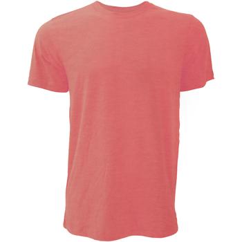 Abbigliamento Uomo T-shirt maniche corte Bella + Canvas CA3001 Rosso Erica