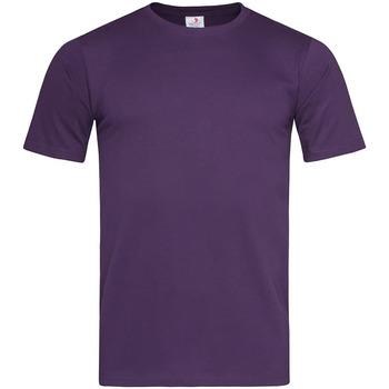 Abbigliamento Uomo T-shirt maniche corte Stedman  Viola intenso
