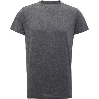 Abbigliamento Uomo T-shirt maniche corte Tridri TR010 Nero melange