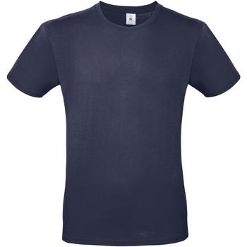 Abbigliamento Uomo T-shirt maniche corte B And C TU01T Blu Navy urban