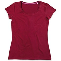 Abbigliamento Donna T-shirt maniche corte Stedman Stars  Bordeaux