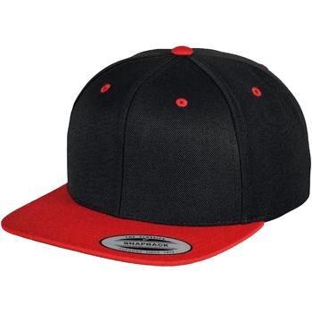 Accessori Cappellini Yupoong  Nero/Rosso