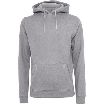 Abbigliamento Uomo Felpe Build Your Brand BY011 Grigio