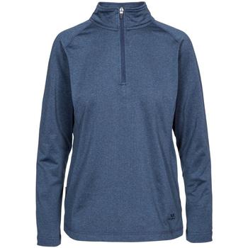 Abbigliamento Donna Felpe in pile Trespass Zirma Blu Navy Screziato