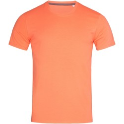 Abbigliamento Uomo T-shirt maniche corte Stedman Stars  Rosa salmone