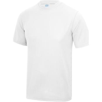 Abbigliamento Uomo T-shirt maniche corte Awdis JC001 Bianco artico