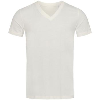 Abbigliamento Uomo T-shirt maniche corte Stedman Stars  Bianco neve