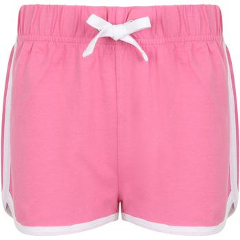Abbigliamento Unisex bambino Shorts / Bermuda Skinni Fit SM069 Rosso