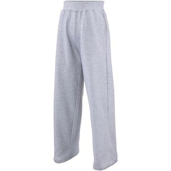 Abbigliamento Unisex bambino Pantaloni da tuta Awdis  Erica grigia