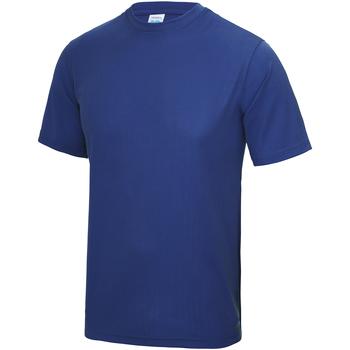 Abbigliamento Unisex bambino T-shirt maniche corte Awdis JC01J Blu reale