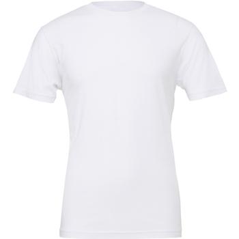 Abbigliamento Uomo T-shirt maniche corte Bella + Canvas CA3001 Bianco
