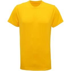 Abbigliamento Uomo T-shirt maniche corte Tridri TR010 Giallo sole