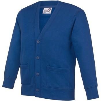 Abbigliamento Unisex bambino Gilet / Cardigan Awdis Academy Blu Reale Scuro