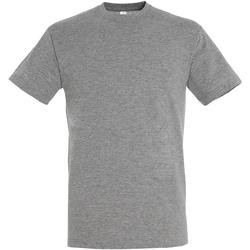 Abbigliamento Uomo T-shirt maniche corte Sols 11380 Grigio Screziato