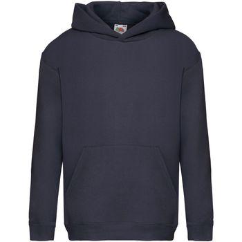 Abbigliamento Unisex bambino Felpe Fruit Of The Loom SS873 Blu navy