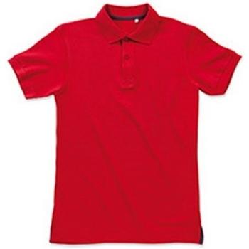 Abbigliamento Uomo Polo maniche corte Stedman Stars Henry Rosso