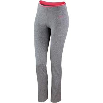 Abbigliamento Donna Leggings Spiro S275F grigio sport/corallo