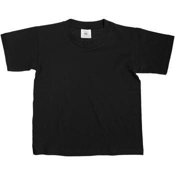 Abbigliamento Unisex bambino T-shirt maniche corte B And C Exact Nero