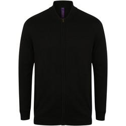 Abbigliamento Gilet / Cardigan Henbury HB718 Nero