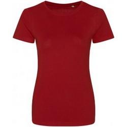 Abbigliamento Donna T-shirt maniche corte Ecologie EA01F Rosso intenso