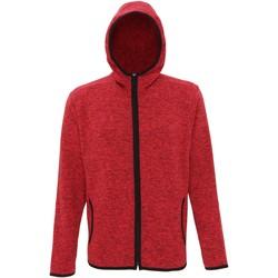 Abbigliamento Uomo Felpe in pile Tridri TR071 Rosso fuoco/Nero