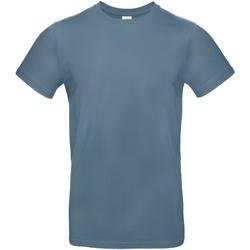 Abbigliamento Uomo T-shirt maniche corte B And C TU03T Blu roccia