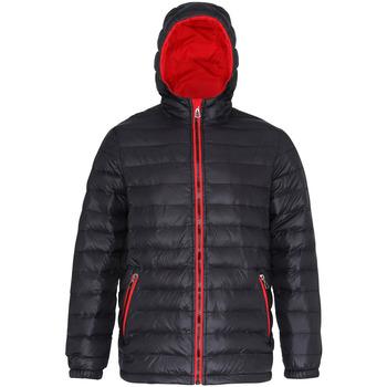 Abbigliamento Uomo Piumini 2786 TS016 Nero/Rosso
