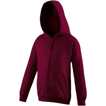 Abbigliamento Unisex bambino Felpe Awdis JH50J Bordeaux