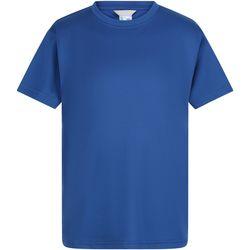 Abbigliamento Bambino T-shirt maniche corte Regatta  Blu reale