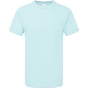 Abbigliamento Uomo T-shirt maniche corte Gildan H000 Azzurrino
