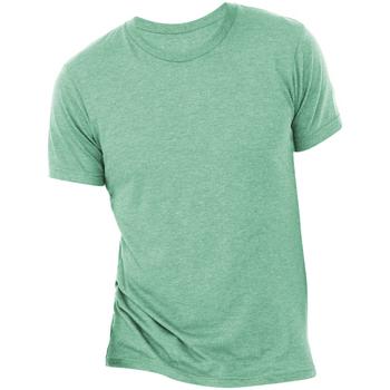 Abbigliamento Uomo T-shirt maniche corte Bella + Canvas CA3413 Verde Acqua
