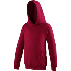 Abbigliamento Unisex bambino Felpe Awdis JH01J Rosso peperoncino