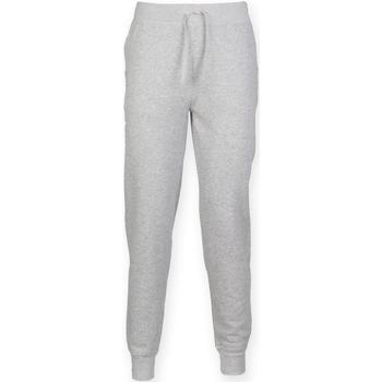 Abbigliamento Uomo Pantaloni da tuta Skinni Fit Cuffed Erica grigia