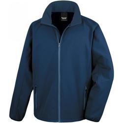 Abbigliamento Uomo Felpe in pile Result R231M Blu navy/Blu navy