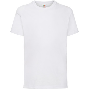 Abbigliamento Unisex bambino T-shirt maniche corte Fruit Of The Loom 61033 Bianco