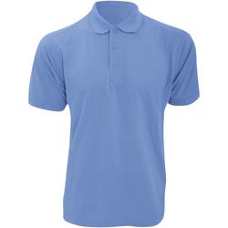 Abbigliamento Uomo Polo maniche corte Kustom Kit KK403 Azzurro