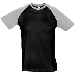 Abbigliamento Uomo T-shirt maniche corte Sols 11190 Nero