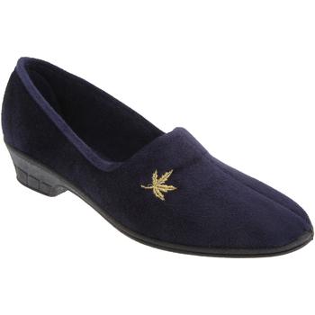 Scarpe Donna Pantofole Sleepers Andover Blu navy