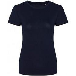 Abbigliamento Donna T-shirt maniche corte Ecologie EA01F Blu navy