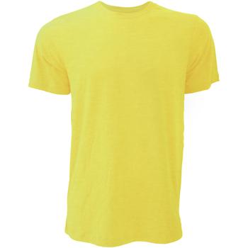 Abbigliamento Uomo T-shirt maniche corte Bella + Canvas CA3001 Dorato screziato