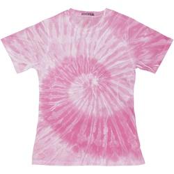 Abbigliamento Donna T-shirt maniche corte Colortone TD20M Rosa