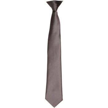 Abbigliamento Uomo Cravatte e accessori Premier PR755 Grigio scuro