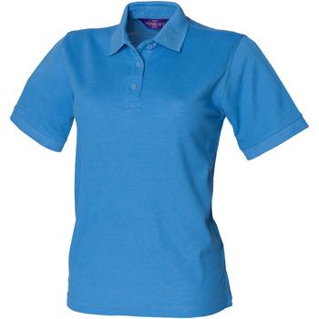 Abbigliamento Donna Polo maniche corte Henbury HB401 Blu notte