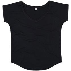 Abbigliamento Donna T-shirt maniche corte Mantis M147 Nero