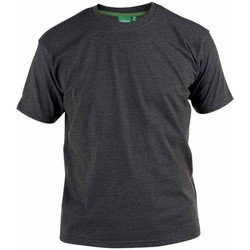 Abbigliamento Uomo T-shirt maniche corte Duke  Carbone melange