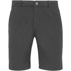 Abbigliamento Uomo Shorts / Bermuda Asquith & Fox AQ051 Ardesia