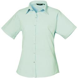 Abbigliamento Donna Camicie Premier PR302 Acqua