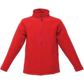 Abbigliamento Uomo giacca a vento Regatta Uproar Rosso/Grigio foca